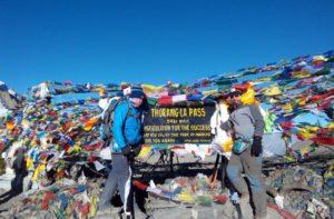 Annapurna circuit trek to Mustang via Thorong La pass