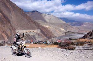 Himalayan bike royal Enfield tours to Mustang from Kathmandu & Pokhara