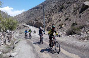 Upper Mustang Mountain biking tours Nepal