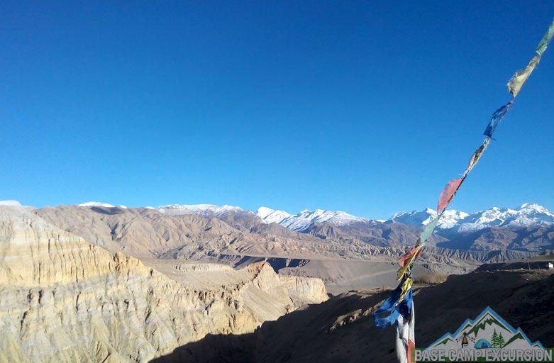 Muktinath to Damodar Kunda trek Mustang Nepal