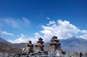 Tetang to Muktinath distance, Upper Mustang to Muktinath trek