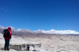 5595m Teri la pass trek via Nar Phu valley to Upper Mustang