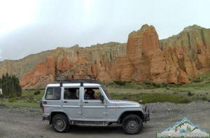 Upper mustang road trip