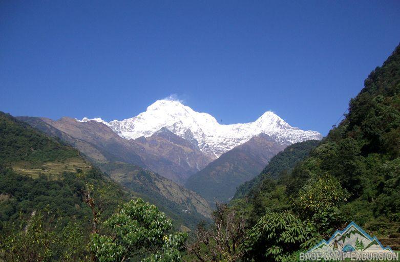 Details of short Annapurna base camp trek 7 days ABC budget package