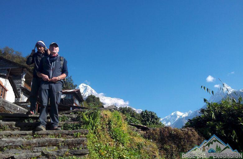 Chhomrong to Syauli Bazaar trek or Pokhara to Chomrong in one day trip