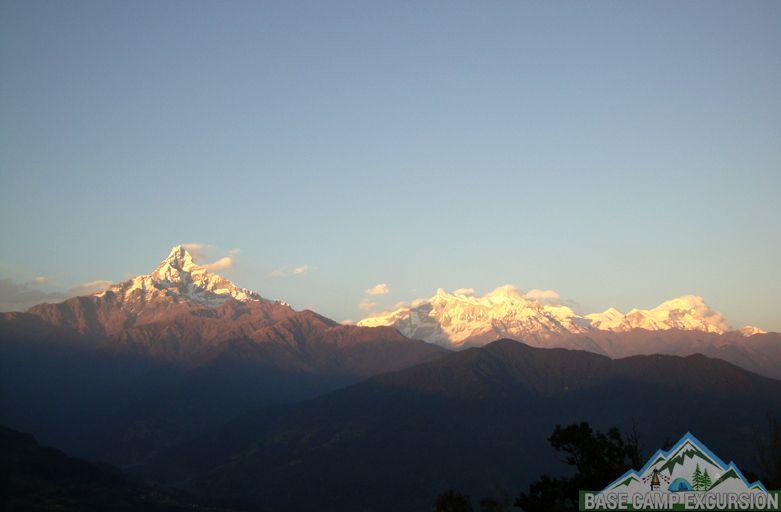 Dhampus to Australian camp trek distance, altitude, weather & map