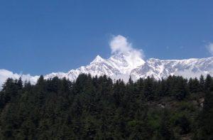 Marpha to Kalopani trek distance, weather & map via Tukuche, Larjung