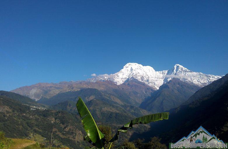 Tadapani to Landruk trek distance, altitude & map of Landruk Nepal