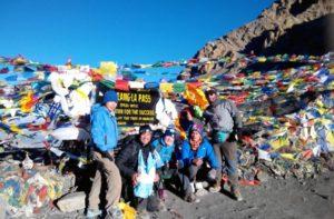 Thorong Phedi to Muktinath trek distance & map crossing Thorong La Pass