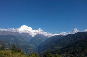 Tolka to Dhampus via Pothana trek distance, altitude & route map