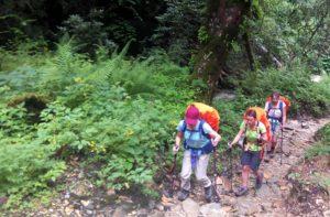 Hire a female trekking guide in Nepal & female tour guide in Nepal with Nepal female guide 3 sisters trekking