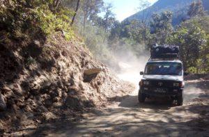 Book jeep or bus for Kathmandu to Soti khola distance via Arughat Nepal