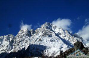 Samdo to Dharmasala trek distance & altitude of Larkya base camp review