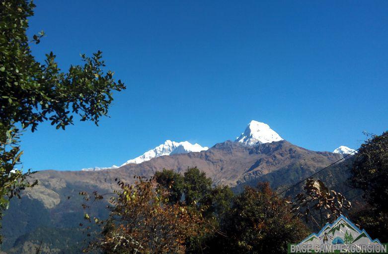 Swanta to Mohare Danda trekking distance & Khopra danda trek itinerary view from Chitre village