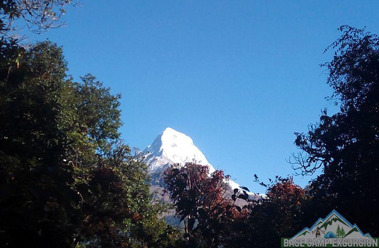 Tadapani to Dobato trek distance & elevation of Khayer Lake trek Nepal