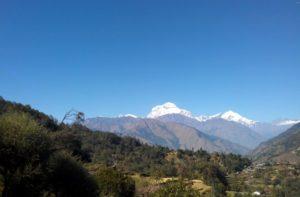 Shikha village during Tatopani to Ghorepani trek distance via Ghara, Shikha & Chitre village