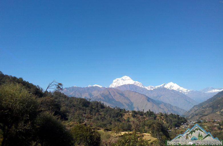 Tatopani to Ghorepani trek distance via Ghara, Shikha & Chitre village