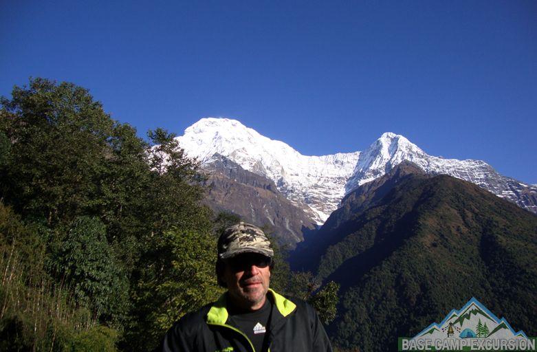 Short Annapurna base camp trek 5 days Pokhara to ABC with guide