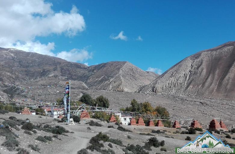 Ghar Gompa trek tour to visit Lo Gekar monastery in Mustang